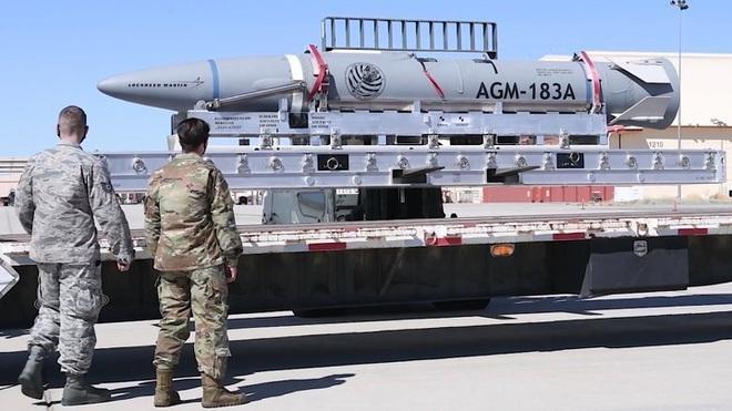Tên lửa AGM-183A (Ảnh: Quân đội Mỹ)