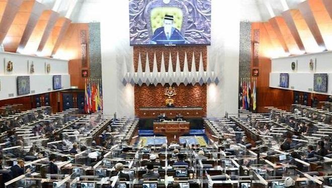 Một phiên họp đặc biệt tại trụ sở quốc hội Malaysia ở Kuala Lumpur ngày 26/7 (Ảnh: AFP)