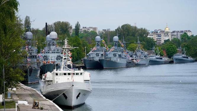 Căn cứ Hải quân của Hạm đổi Baltic của Nga (Ảnh: Iz.ru)