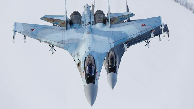 Chiến đấu cơ Su-35S của Không quân Nga (Ảnh: Military Watch)