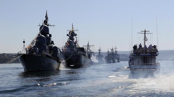 Hạm đội phương Bắc của Nga (Ảnh: RBTH)