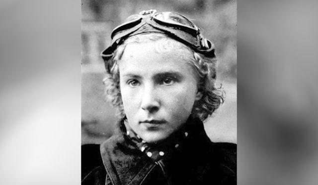 Nữ phi công quả cảm Lydia Litvyak (Ảnh: AIF)