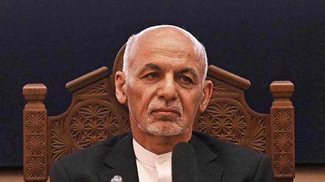 Tổng thống Afghanistan bị lật đổ, Ashraf Ghani (Ảnh: NBC News)