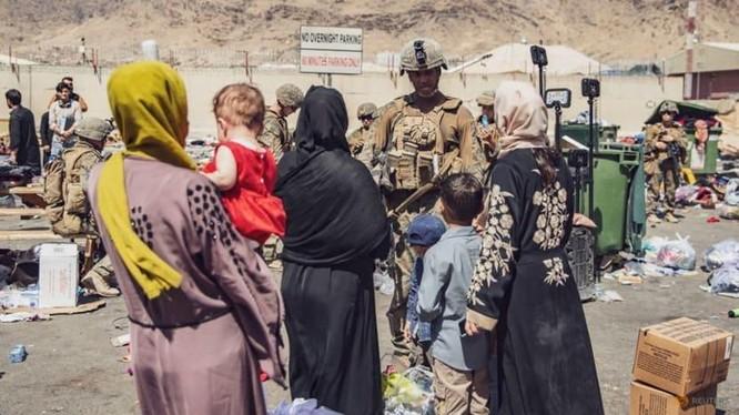 Mỹ đang trong giai đoạn cuối của nhiệm vụ sơ tán khỏi Afghanistan (Ảnh: Reuters)