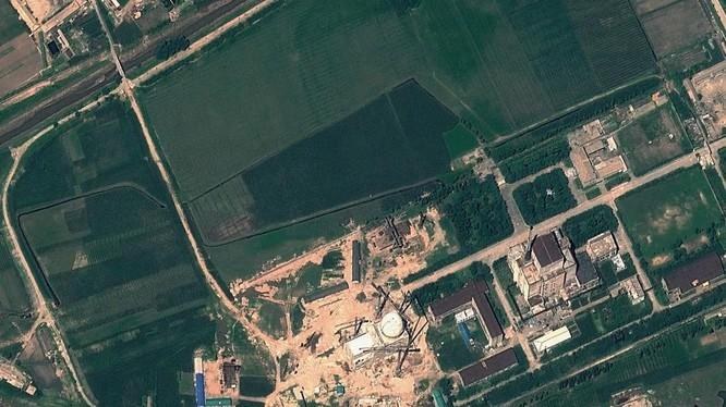 Ảnh chụp về tinh Trung tâm Khoa học Nguyên tử Yongbyon ngày 22/8 (Ảnh: AFP)