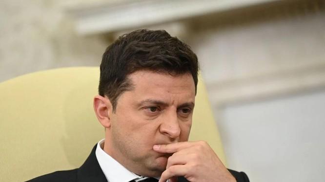 Tổng thống Ukraine Volodymyr Zelensky (Ảnh: AFP)