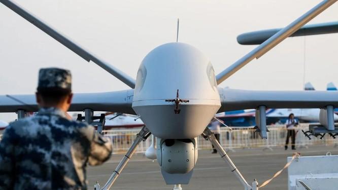 Mẫu drone Wing Loong của Trung Quốc (Ảnh: SCMP)