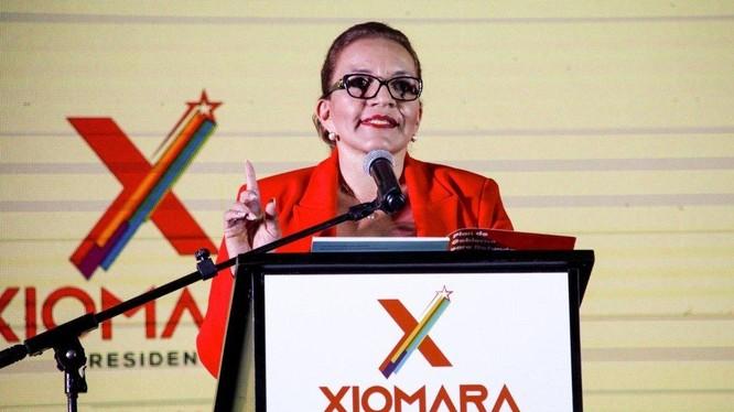 Xiomara Castro, ứng viên Tổng thống tiềm năng có tư tưởng thân Trung Quốc của Honduras (Ảnh: Reuters)