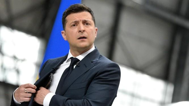 Tổng thống Ukraine Volodymyr Zelensky (Ảnh: RT)