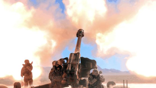 Quân đội Trung Quốc thử nghiệm pháo PL-166 152 mm (Ảnh: China Military)
