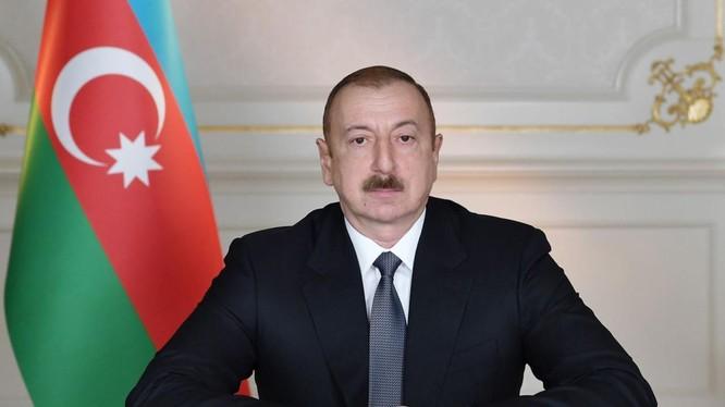 Tổng thống Azerbaijan Ilham Aliyev (Ảnh: AzerNews)