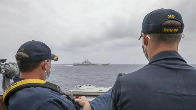 Quân đội Mỹ và Trung Quốc vẫn duy trì các kênh liên lạc để tránh tính toán sai lầm (Ảnh: US Navy)