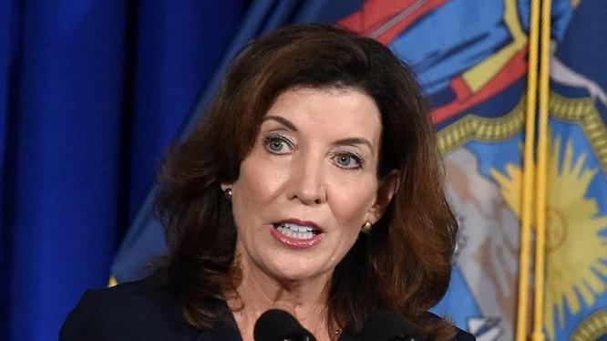 Thống đốc bang New York Kathy Hochul (Ảnh: CNBC)