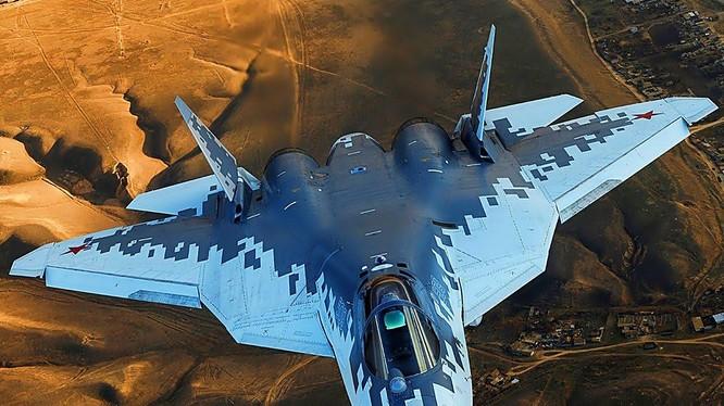Tiêm kích tàng hình Su-57 của Nga sẽ được trang bị tên lửa siêu thanh nhỏ, gọn (Ảnh: Defenseforce)