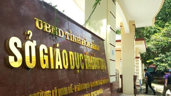 Trụ sở Sở GD&ĐT tỉnh Hòa Bình. Ảnh: Internet