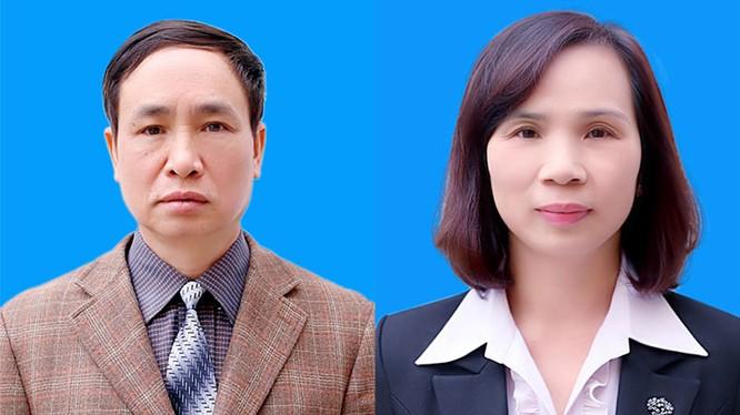 Ông Phạm Văn Khuông và bà Triệu Thị Chính. Ảnh: Sở Giáo dục và Đào tạo Hà Giang