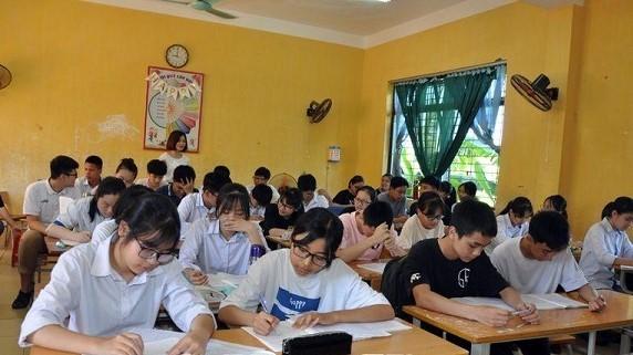 Kỳ thi tuyển sinh lớp 10 tại Hưng Yên năm 2020 diễn ra an toàn, nghiêm túc, đúng quy chế.