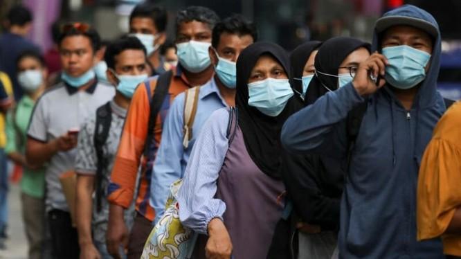 Biến chủng SARS-CoV-2 được phát hiện tại 2 ổ dịch ở Malaysia. Ảnh: Straits Times