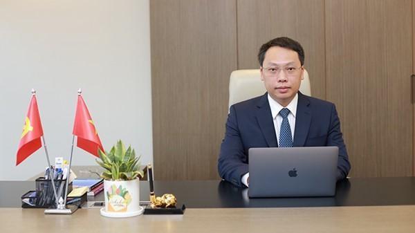 Thứ trưởng Bộ TT&TT Nguyễn Huy Dũng - đồng Trưởng Tiểu ban ứng dụng CNTT quản lý tiêm chủng vắc xin phòng COVID-19 và truyền thông.