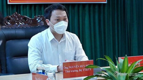 Thứ trưởng Bộ TT&TT Nguyễn Huy Dũng - Trưởng Ban Ban Điều hành triển khai Đề án đào tạo và phát triển nguồn nhân lực nguồn nhân lực An toàn thông tin. Ảnh: mic.gov.vn.
