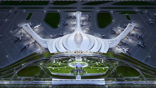 Phương án LT-03 đã được lựa chọn cho thiết kế sân bay Long Thành