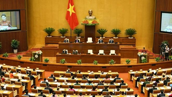 Một phiên họp của Quốc hội
