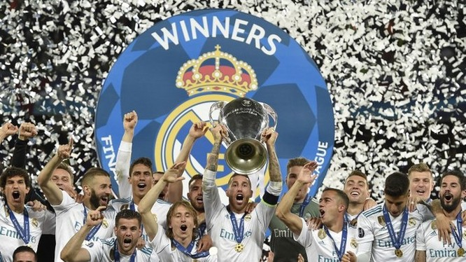 Đội bóng Hoàng gia TBN- Real Madrid lần thứ 13 nâng chiếc CUP danh giá nhất châu Âu