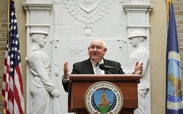 Bộ trưởng Nông nghiệp Mỹ Sonny Perdue tuyên bố kế hoạch tài trợ nông nghiệp 12 tỷ USD.
