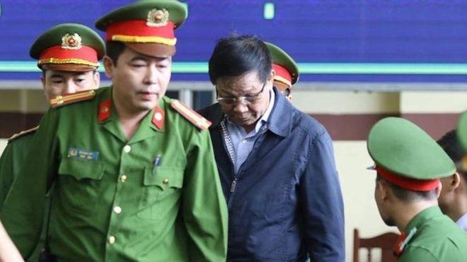 Ông Phan Văn Vinh được đưa ra Tòa