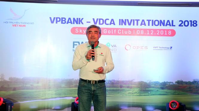 Chủ tịch VDCA Nguyễn Minh Hồng