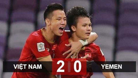 Đá bại Yemen 2-0 để đoạt vị trí thứ ba bảng D Asian Cup 2019 với 3 điểm.