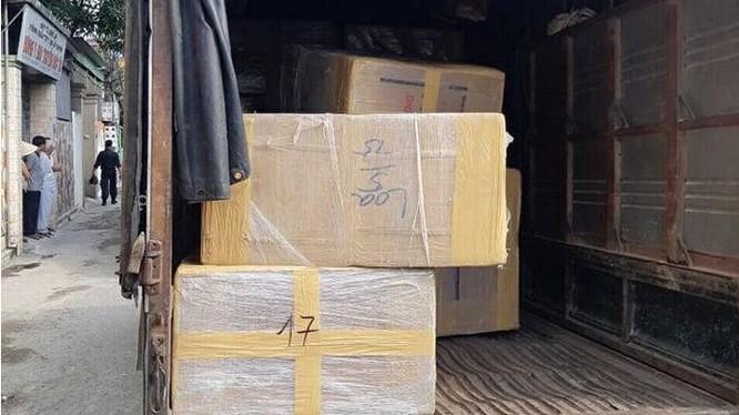 Bắt giữ 4 đối tượng và 600kg ma túy đá tại Nghệ An.