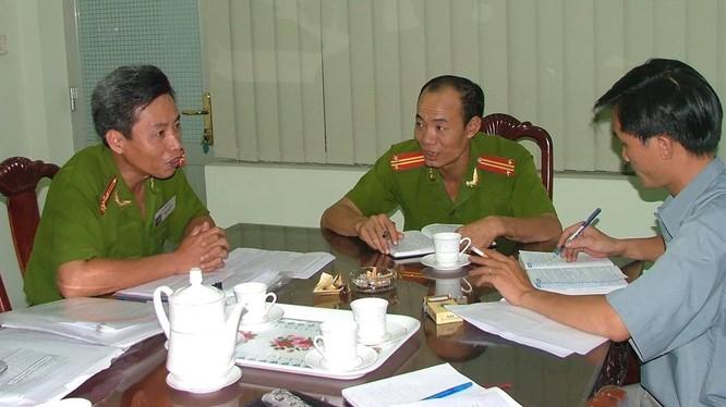 Tướng Minh trong một lần trả lời phỏng vấn.