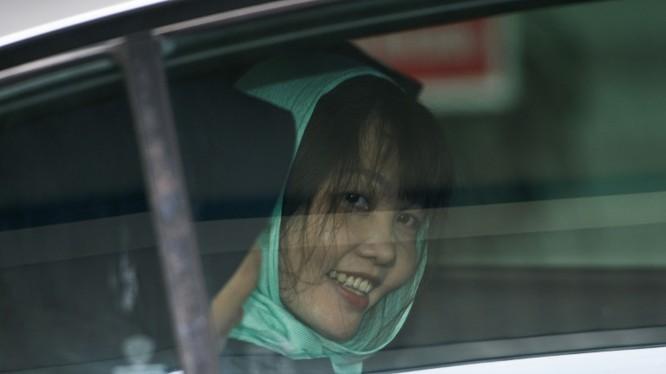 Đoàn Thị Hương được trả tự do vào sáng nay (3/5) (Ảnh: AFP)
