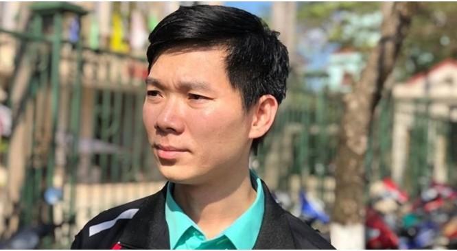 BS Hoàng Công Lương tại phiên sơ thẩm. (Ảnh: Lao Động).