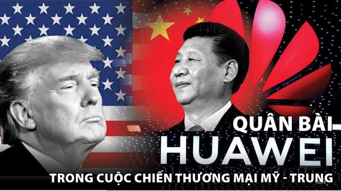 """Ông Trump cho rằng, Huawei đặt ra """"những rủi ro không thể chấp nhận"""" đối với an ninh quốc gia."""