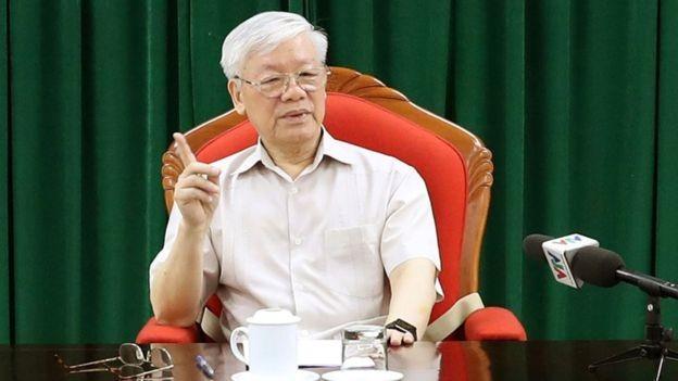 Tổng Bí thư, Chủ tịch nước Nguyễn Phú Trọng cho rằng vẫn còn cấp ủy chưa khẳng định được trách nhiệm, năng lực lãnh đạo.