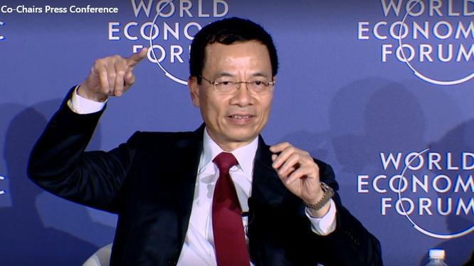 Bộ trưởng Nguyễn Mạnh Hùng: giữ cho không gian mạng lành mạnh, không ô nhiễm là việc của mỗi chúng ta và cũng là vì chính chúng ta.