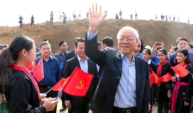 Tổng bí thư, Chủ tịch nước Nguyễn Phú Trọng- Nhà lãnh đạo kiên trung của Đảng.