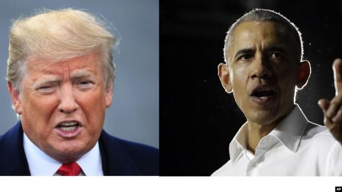 """Tổng thống Trump và cựu TT Obama cùng giành danh hiệu """"người đàn ông đáng ngưỡng mộ nhất"""" của năm."""