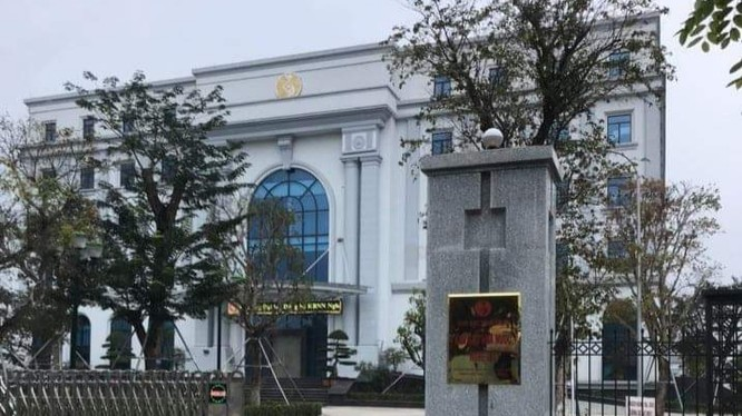 Trụ sở Kho bạc Nhà nước Nghệ An (Ảnh: Đức Thanh)