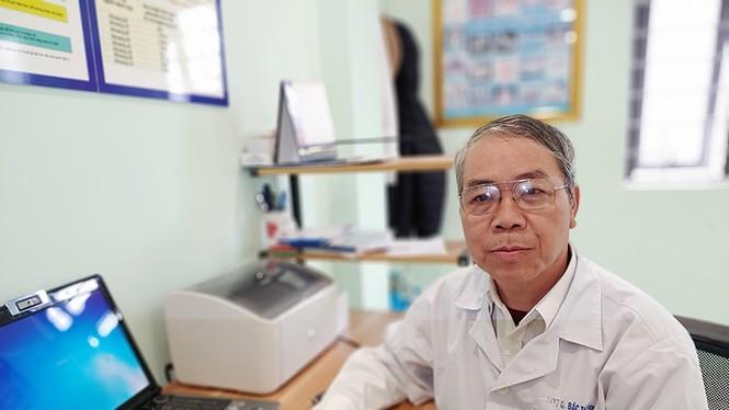 Bác sĩ Đặng Minh Vụ, nguyên là cán bộ y tế phường Đông Ngạc, huyện Từ Liêm (Hà Nội).
