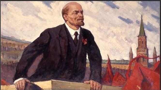 V.I. Lenin- Người thầy của cách mạng vô sản- Ảnh tư liệu.