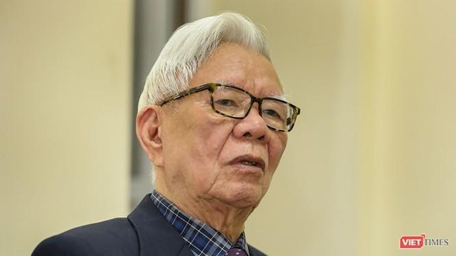 Ông Nguyễn Đình Hương- tấm gương sáng về lòng kiên trung và liêm chính- Ảnh Việt Dũng.