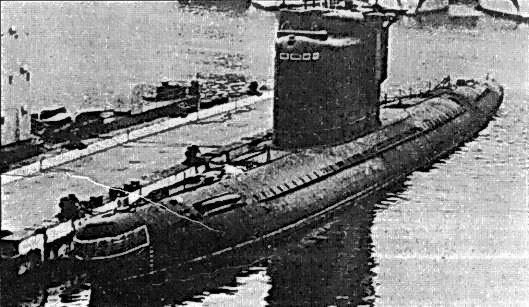 Tàu ngầm Liên Xô ở Albani- Ảnh tư liệu.