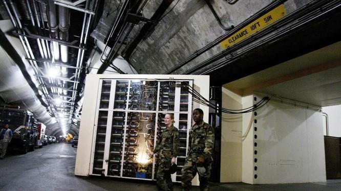 Hầm ngầm của giới chức Mỹ- Ảnh Tư liệu.