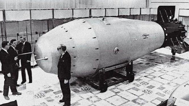 """Bom """"Sa Hoàng"""" của Liên Xô (Ảnh: Tư liệu)"""
