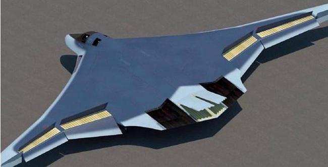 """Mô hình máy bay ném bom chiến lược thế hệ mới của Nga, """"Product-80"""" (Nguồn: The Diplomat)"""
