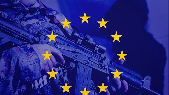Ý tưởng về quân đội châu Âu được đề cập lại sau khi Mỹ rút quân khỏi Afghanistan (Nguồn: Getty)