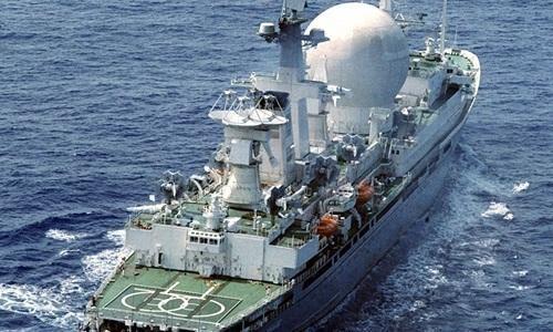 Tàu Nguyên soái Krylov của hải quân Nga (Ảnh: Sputnik)